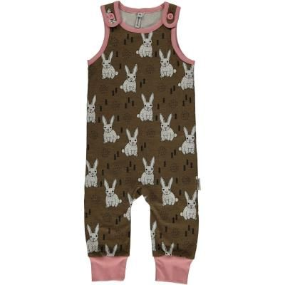 Maxomorra Plus Playsuit Rabbit Toddler Girl Style Childrens Clothes Playsuit