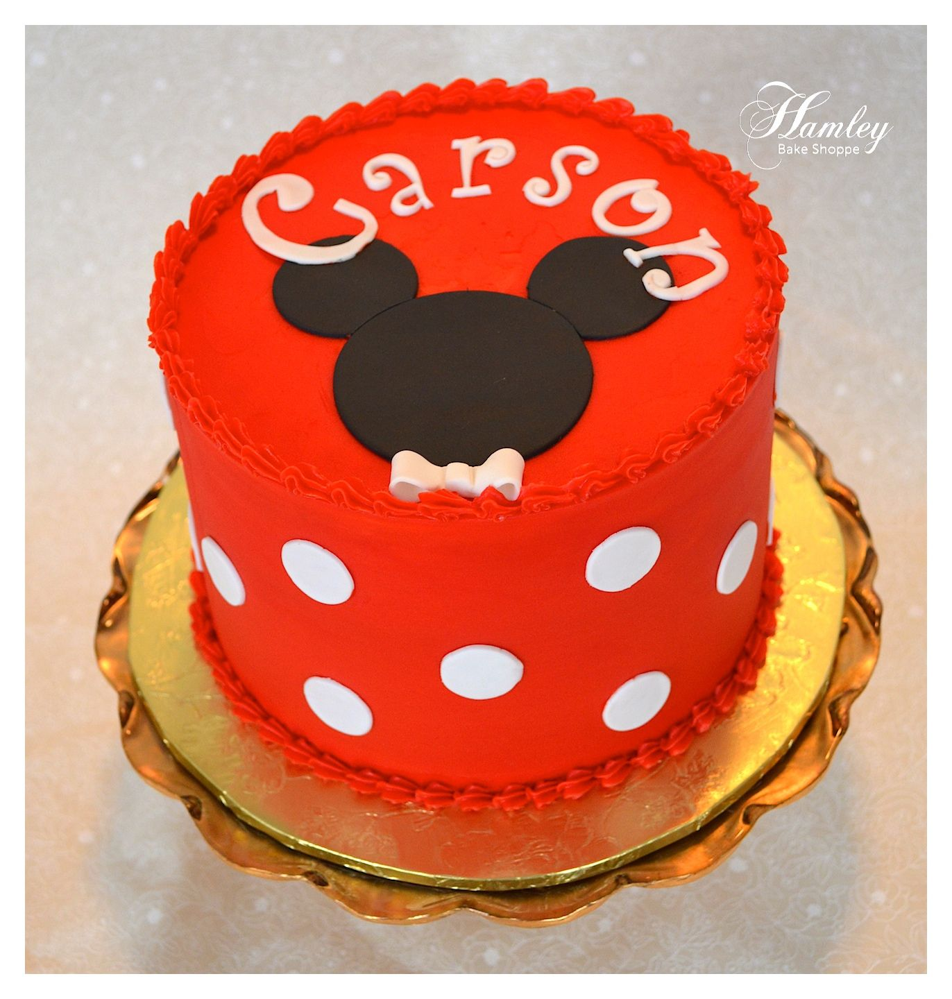 Mickey Mouse Smash Cake: Makes Me Think Of Our Precious