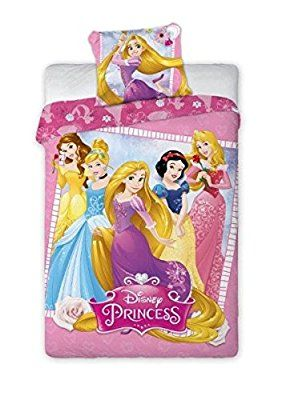 Faro Disney Princess Kinder Bettwasche 140 X 200 Cm Oeko Tex