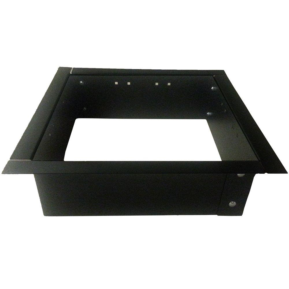 Square Fire Pit Insert-417.RJT- IQ-23/8 - The Home Depot - Null 24 In. Square Fire Pit Insert Outside Decorative Ideas