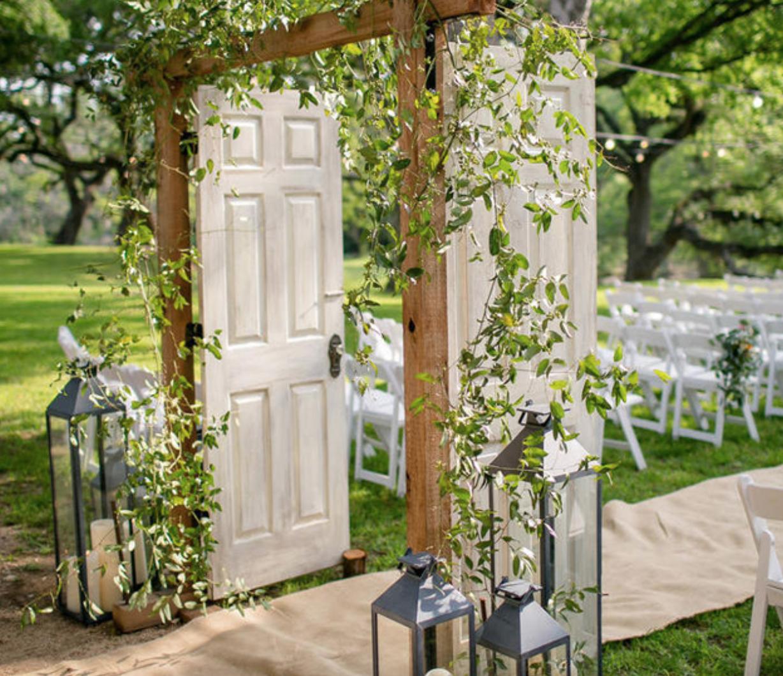 Outdoor Wedding Ceremony Doors: Pin By Maryanne Lombardo On Backyard Wedding Miscellaneous
