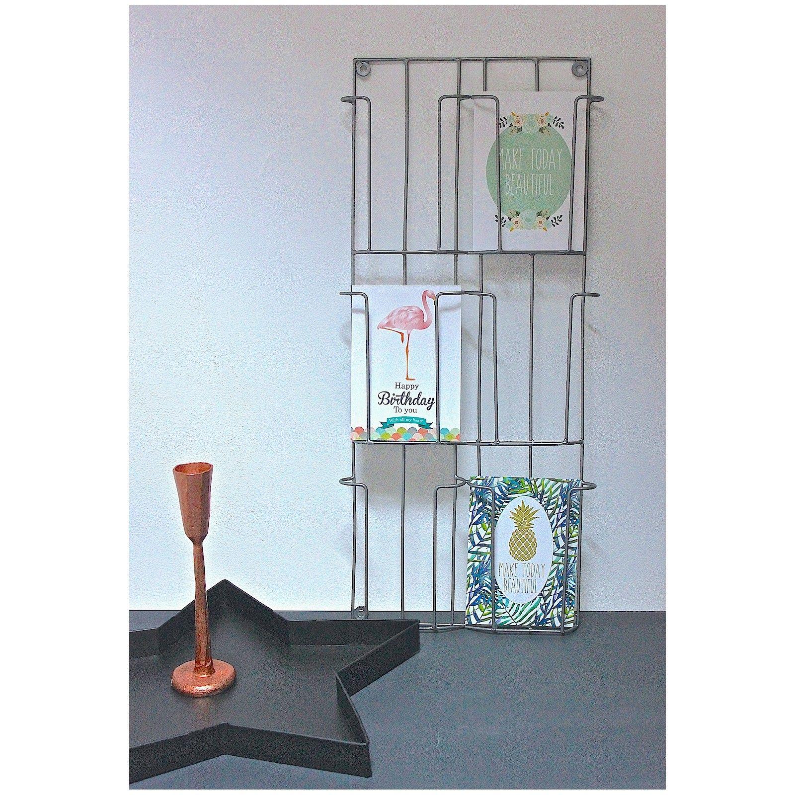porte-carte-postales-mural-Mme-Stoltz|mybohem | Des jolies choses ...