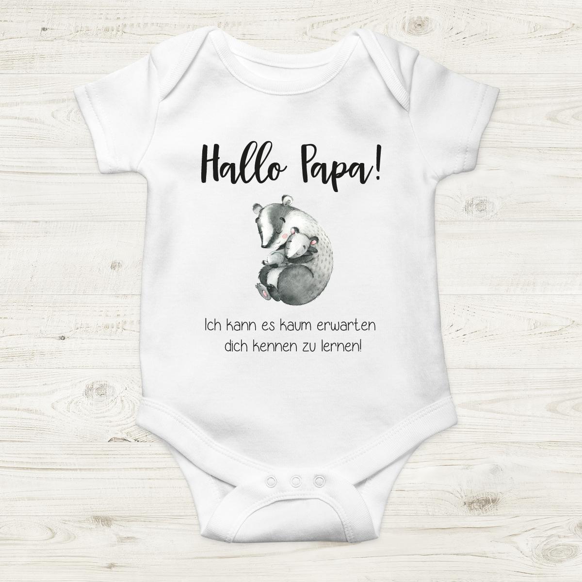 clothinx Baby-Body Bio Geburt Du wirst Oma