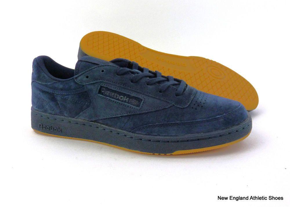 53852cf62c217 Reebok men s Club C 85 casual shoes sneakers Collegiate Night Navy Gum size  12  Reebok  AthleticSneakers