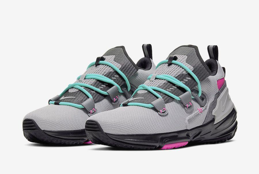 Nike Zoom Moc South Beach Grey Pink Aqua At8695 002 Release Date
