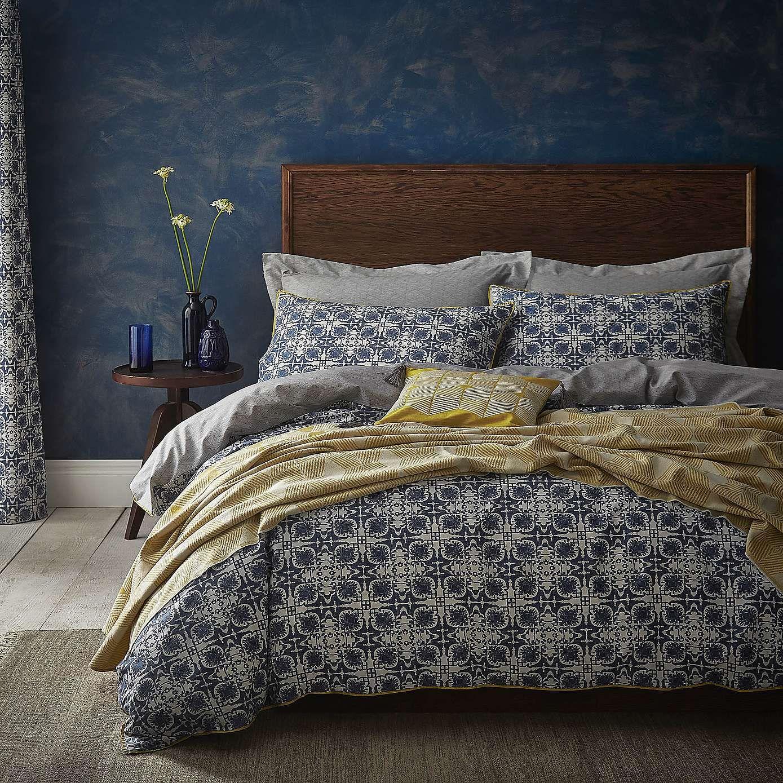 Amal Bed Linen Collection Dunelm Blue Duvet Cover Bedroom Decor Bed Linen Sets