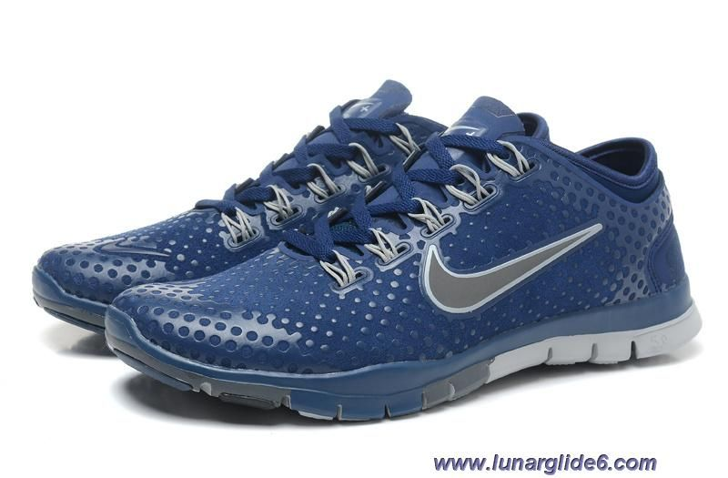 uk availability 6444d 95f28 ... shop mens nike free tr fit squadron blue grey silver training shoes  outlet a3671 73408