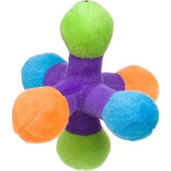 Petco Plush Multi Color Jack Dog Toy Toy Puppies Dog Toys