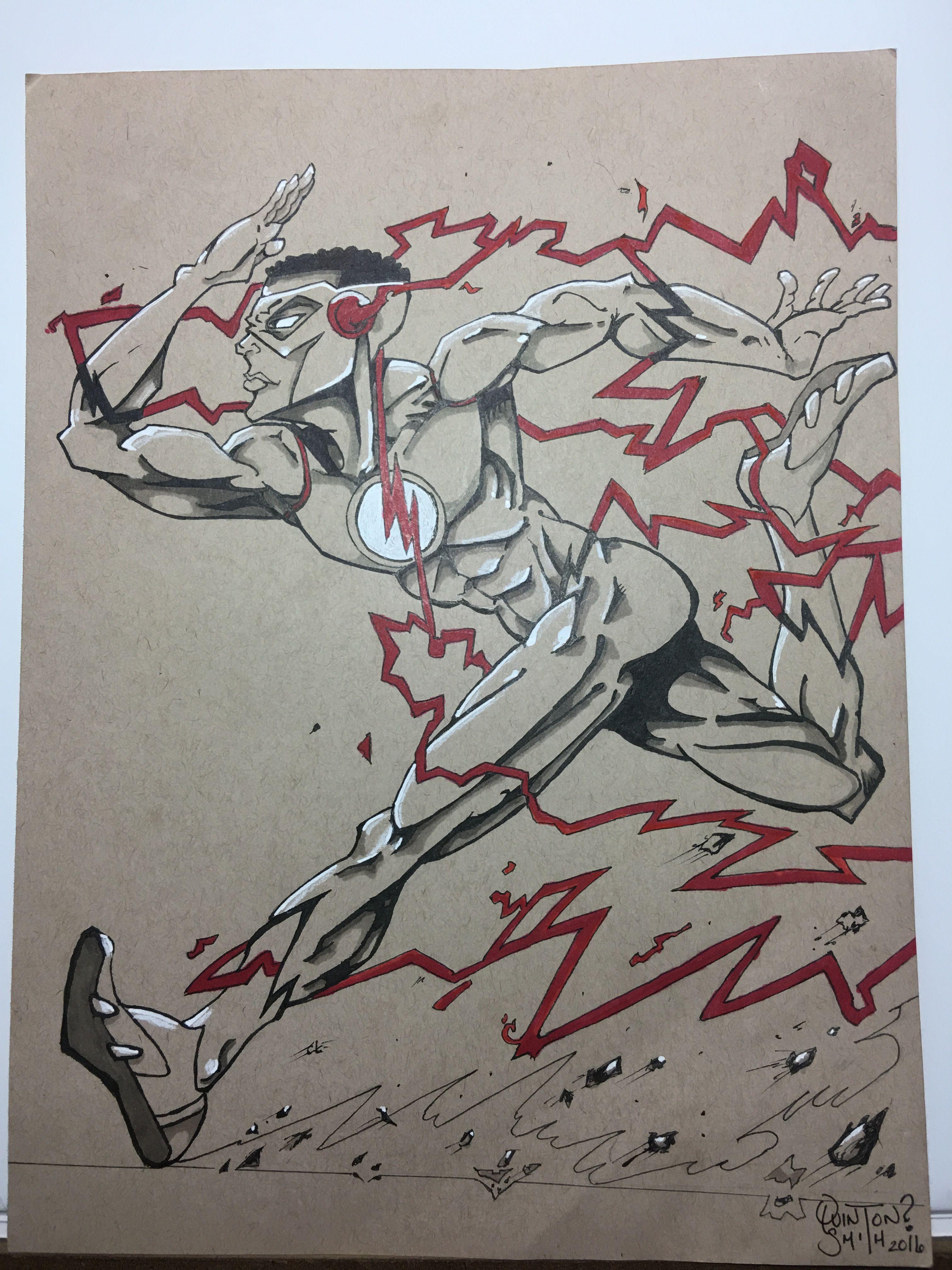 Kid Flash fanart.