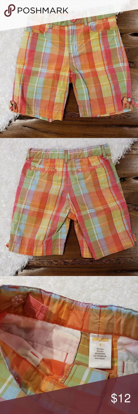Gymboree Girls Little Bermuda Shorts