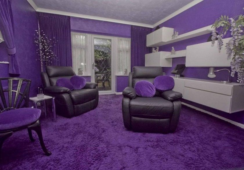 this hideous all purple home could be yours for 644k