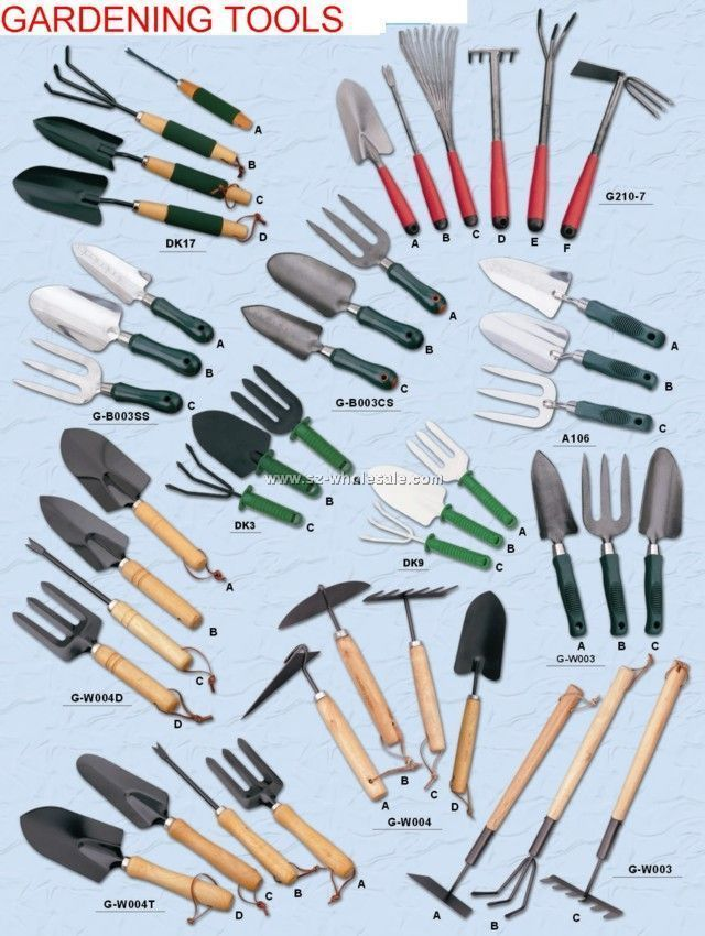 Garden Tools List You Can Get More Details By Clicking On The Image