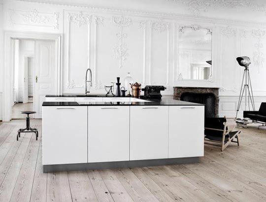 Minimalist danish kitchen designs by kvik willow cocinas