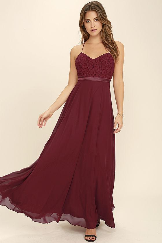 657a8217e747 Cheap Chiffon Modest Sexy Unique Bridesmaid Dresses Mixed Style A Line  Burgundy Bridesmaid Dresses, WG268 - SposaBridal #burgundy # bridesmaiddresses ...