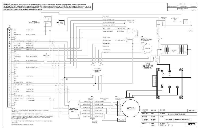 EV Conversion Schematic   Ev conversion, Electric cars, Electrical wiringPinterest