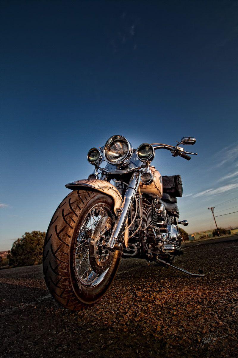 The Robert Jamason Project Motorrad Harley Davidson Fotoshooting