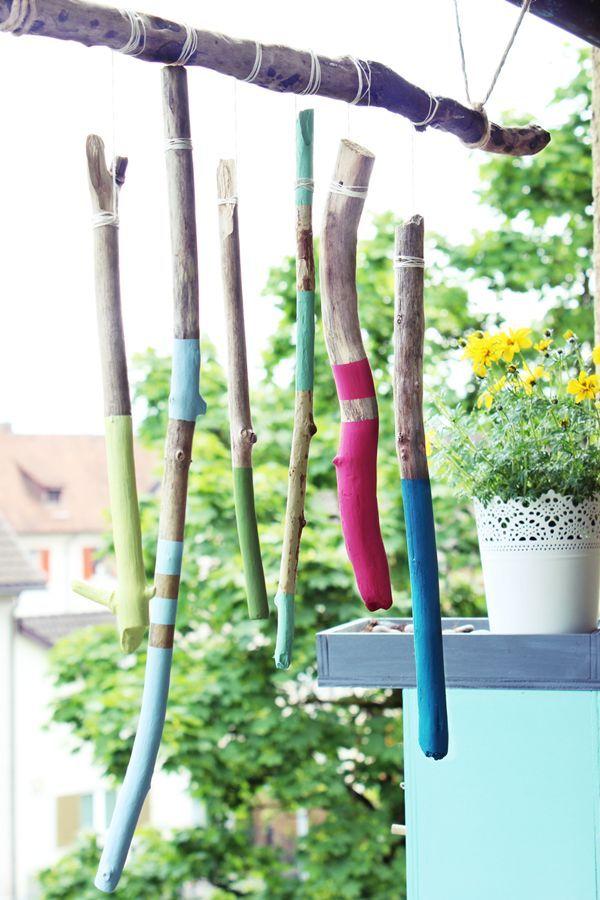 Photo of {DIY} Schwemmholz Windspiel   s'Bastelkistle   Bloglovin'