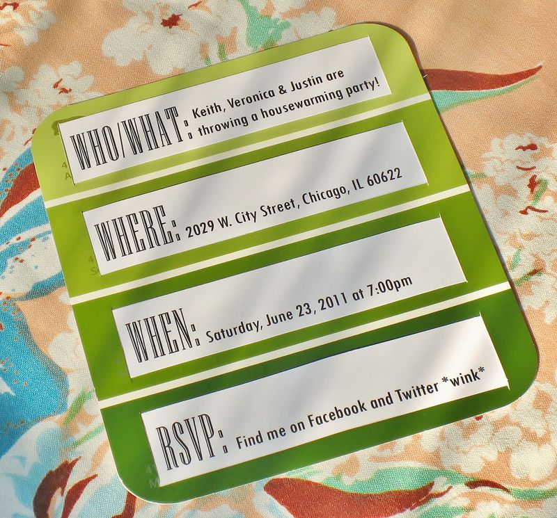 Paint Chip Housewarming Party Invitation or any invitation really – Cheap Housewarming Party Invitations