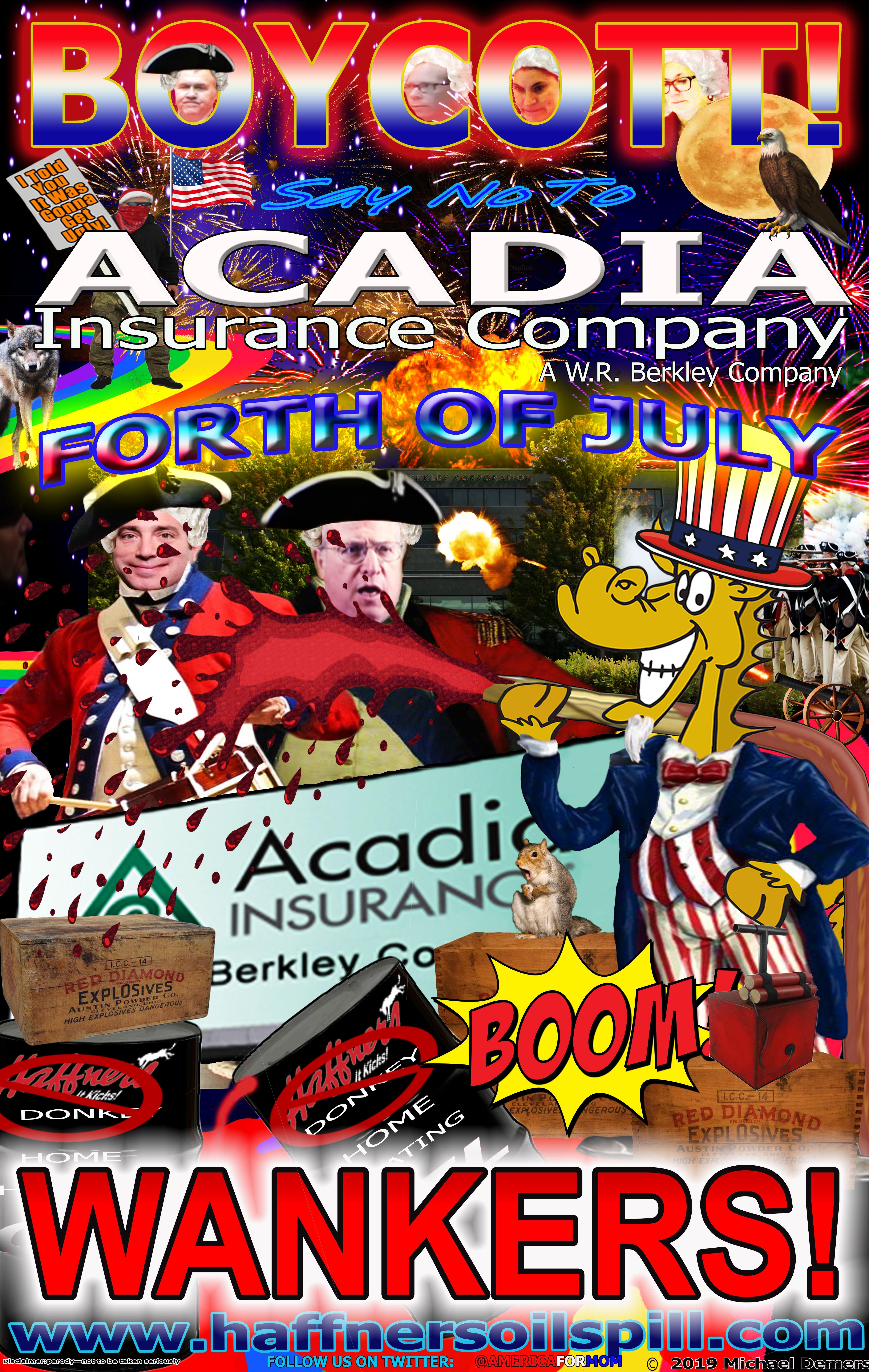 Boycott acadia insurance company w r berkley