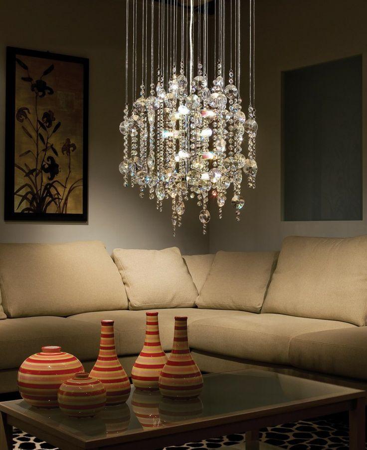 Crystal Chandelier From Elgo Lighting Voguehome Org Decor Dining Room Lighting Chandelier Lighting