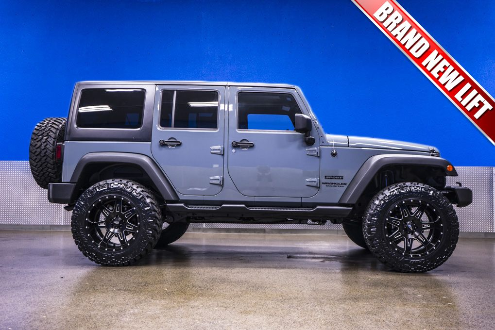 2014 jeep wrangler unlimited sport 4x4 with brand new 4 fabtech performance lift with 20 moto. Black Bedroom Furniture Sets. Home Design Ideas