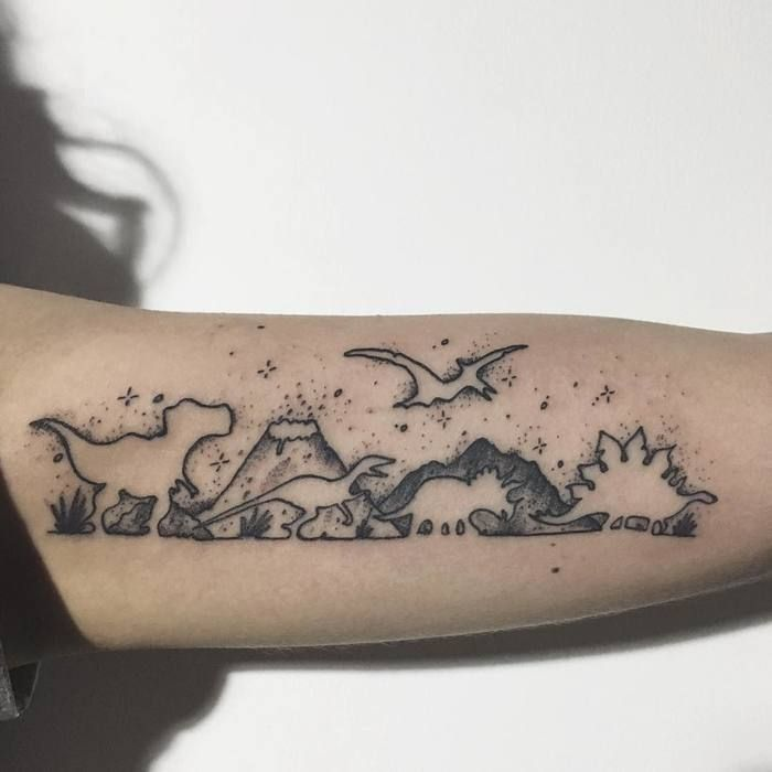 Dinosaur Tattoos Designs Ideas And Meaning: 33 Best Dinosaur Tattoo Designs And Ideas
