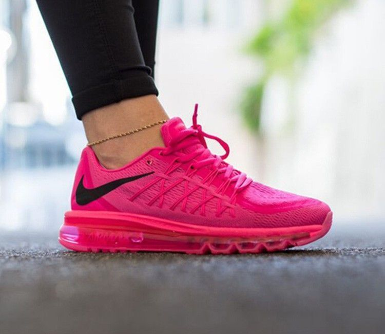 competitive price bd58a 76ad9 NIKE AIR MAX 2015 Wmn Sz 9 PINK FOIL BLACK-PINK 698903-600