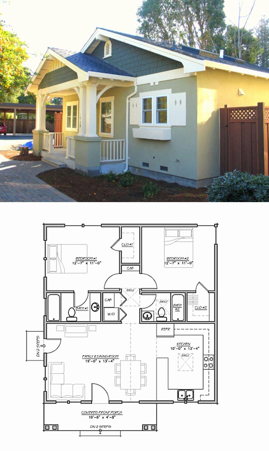 Craftman Style House Plans Unique Craftsman Style House Plan 2 Beds 2 Baths Craftsman Style House Plans Craftsman House Plans Small Craftsman Style House Plans