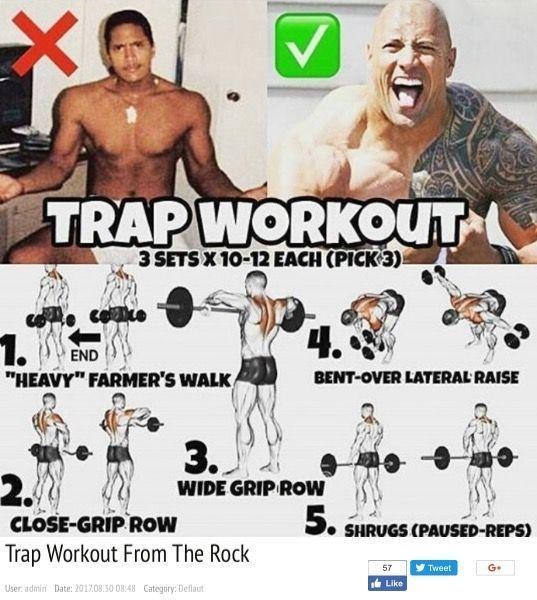 Trap workout-back | Traps Workout At Home With Dumbbells | Quad workout | Trapezius Exercises... #trapsworkout
