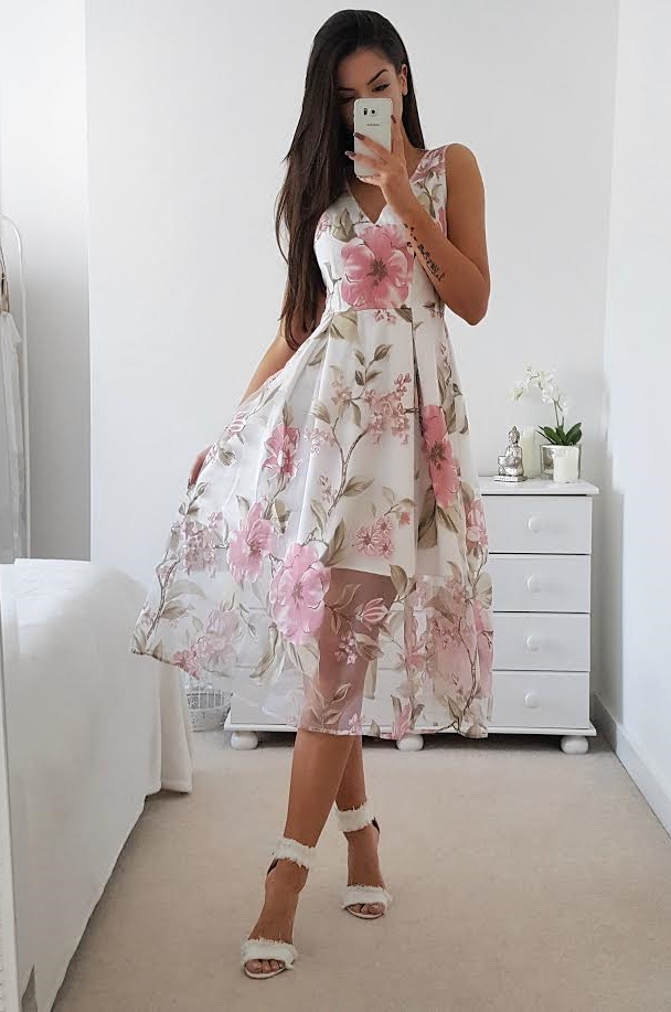 hilton dress  pink in 2019  summer wedding outfits