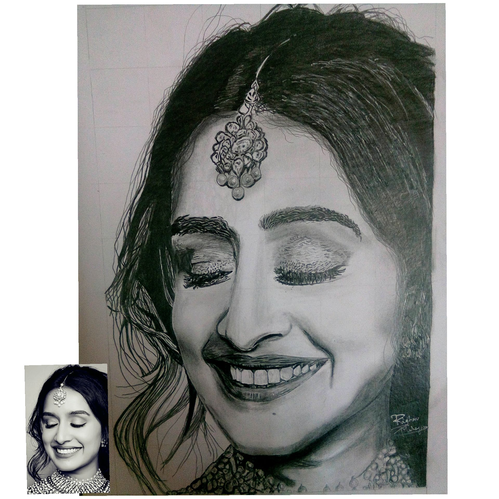 Pin by Sanjana lama on Exercise in 2020 | Portrait, Crayon ...