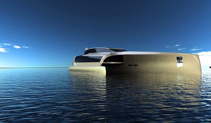 Luxus trimaran  210 Sunreef Power Trimaran | Mega Yates | Pinterest