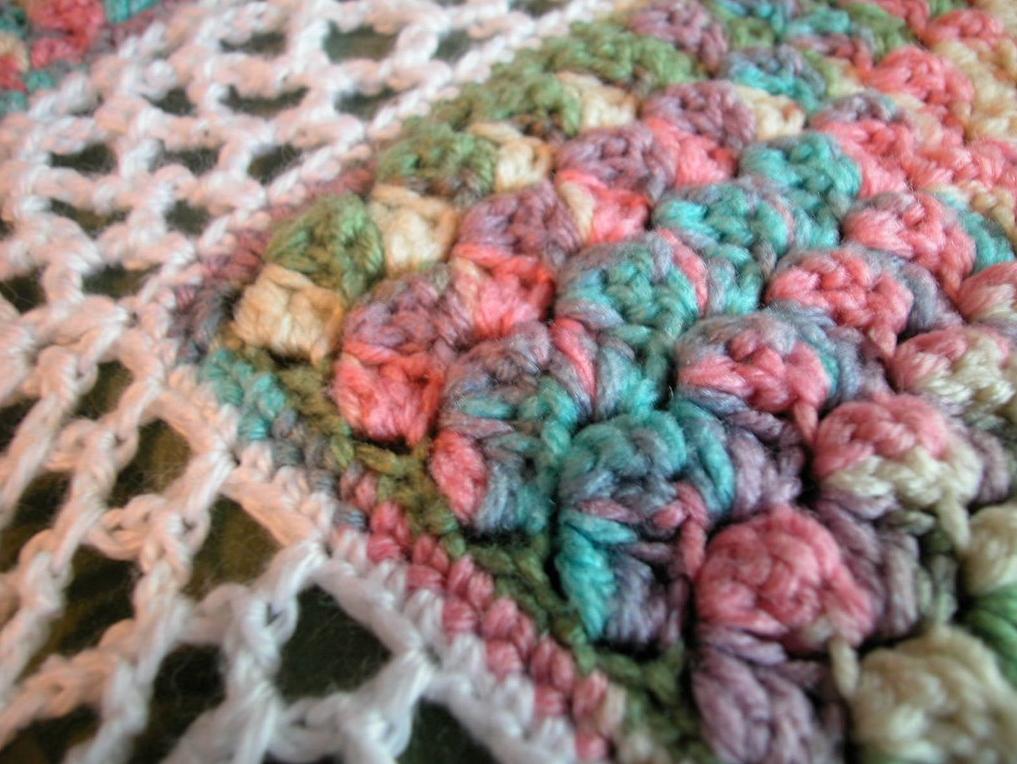 Free Crochet Pattern Monet Afghan By Drew Emborsky Aka The Crochet