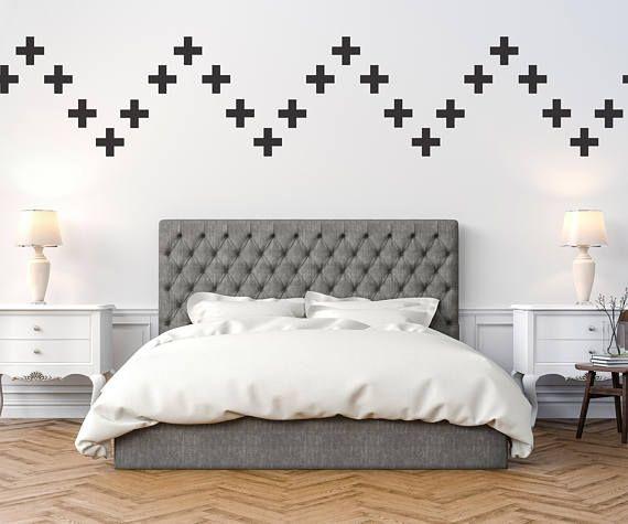 40 x Cross Interior Vinyl Wall Stickers / Wall Decoration / Wall Art ...
