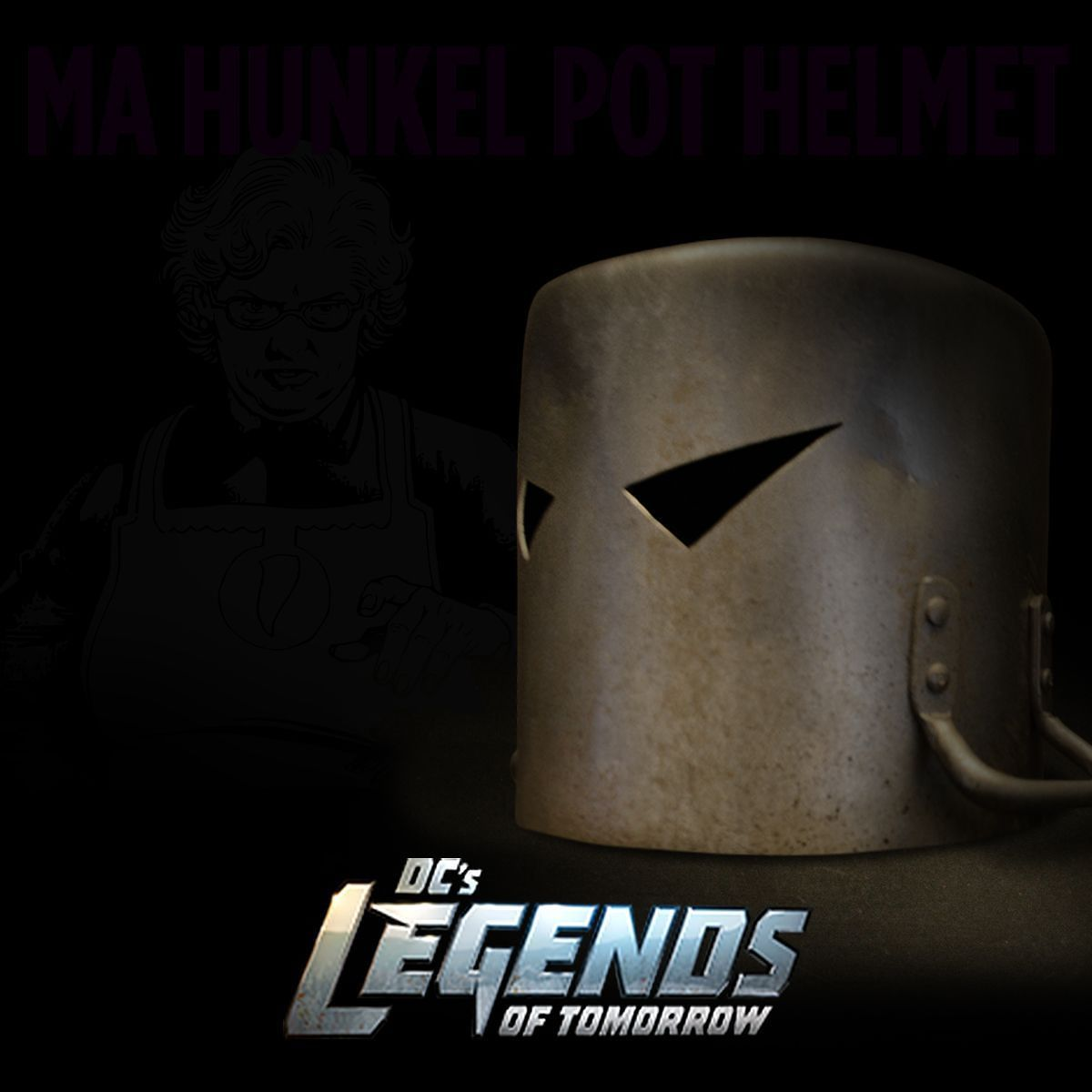 The armor may be DIY but this guy is no pushover--come to think of it he's not a guy at all. So who's under that pot...? Screenshot this image and use filters to reveal the answer and share your findings with #LoTEasterEggs! @cw_legendsoftomorrow: Thursday at 8/7c on The CW. by dccomics