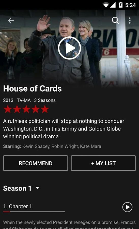 Netflix- screenshot | UI°Android | Netflix website, Netflix app