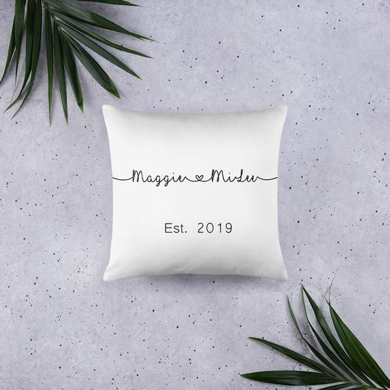 Personalized couples gifts, personalized couples pillow, Couple pillow cases, Co : Personalized couples gifts, personalized