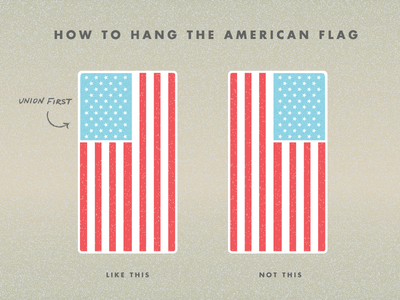 How To Hang The American Flag American Flag Diy American Flag Vertical American Flag