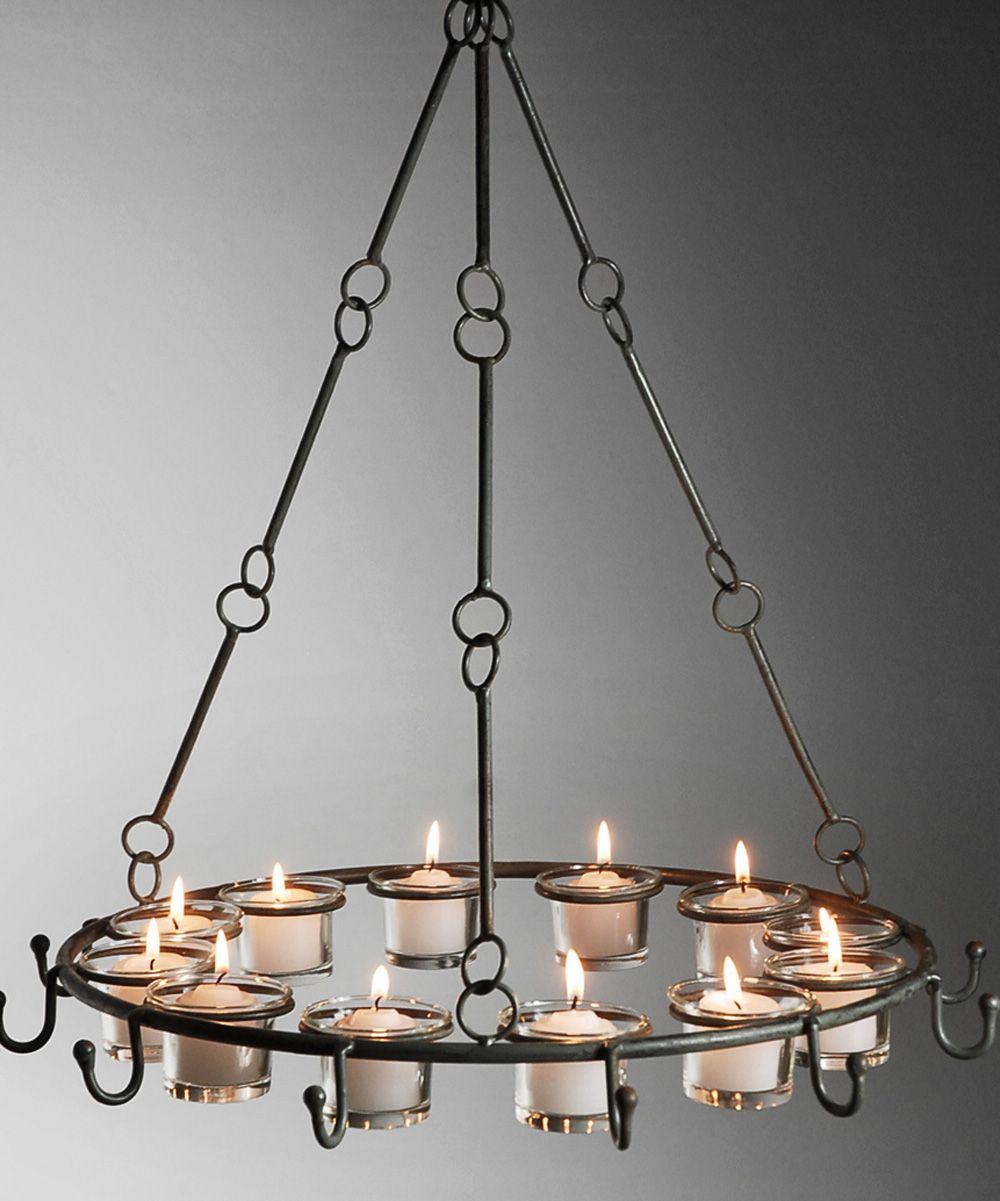 Lampadario di candele chandelier candles chandelier candles hooked metal candle chandelier by save on crafts arubaitofo Images