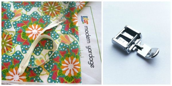 Easy Zipper Pillow Cover - The Sewing Loft