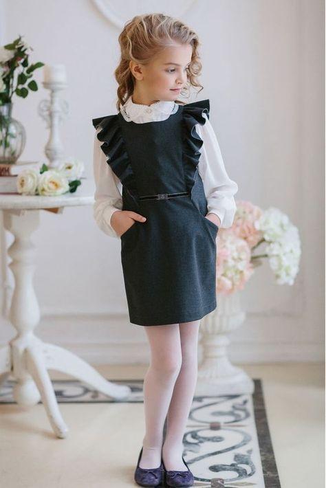 Модная школьная форма для девочек и подростков 2017 года ...