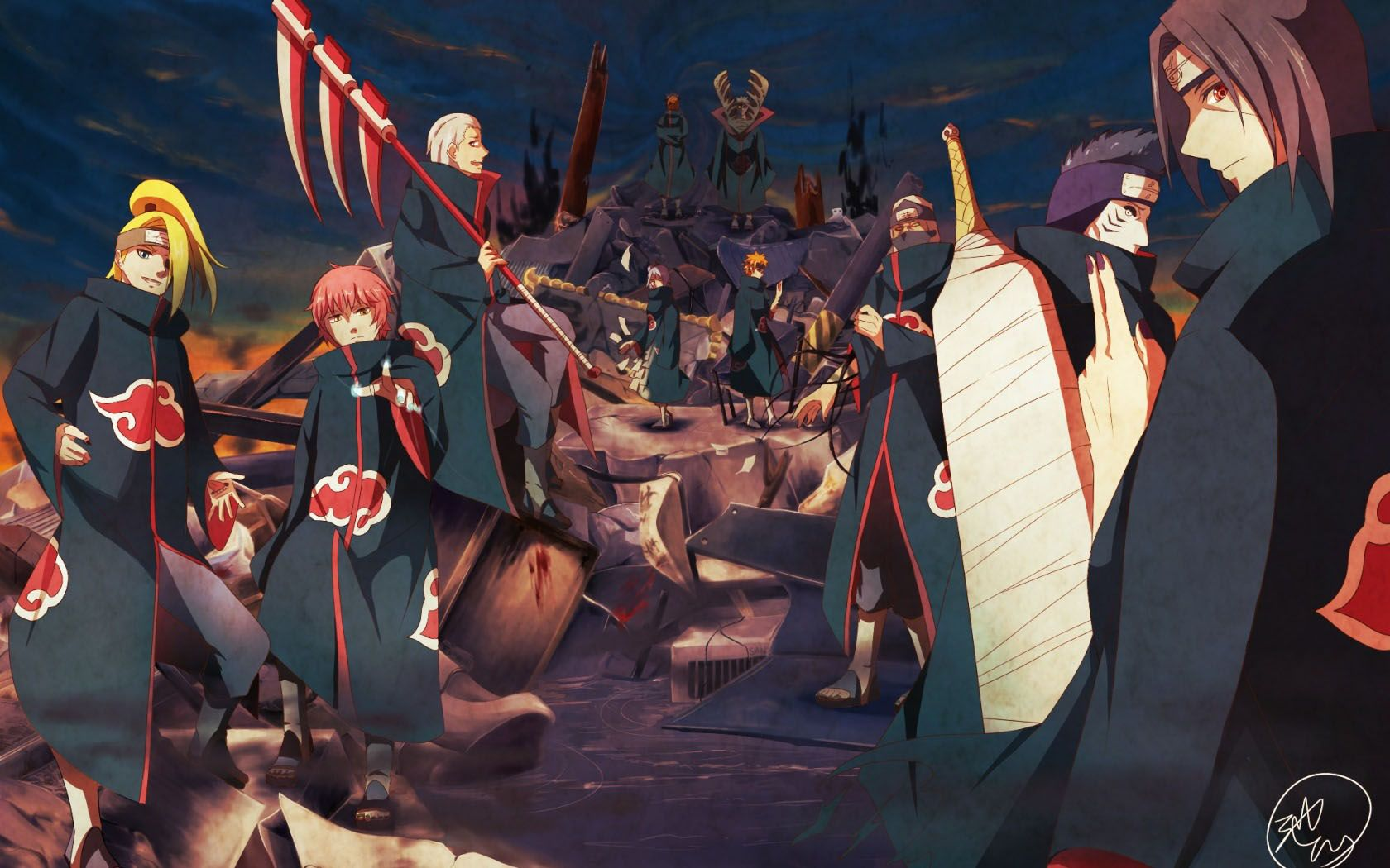 Akatsuki Wallpaper Images Hd Wallpapers Buzz 16801050