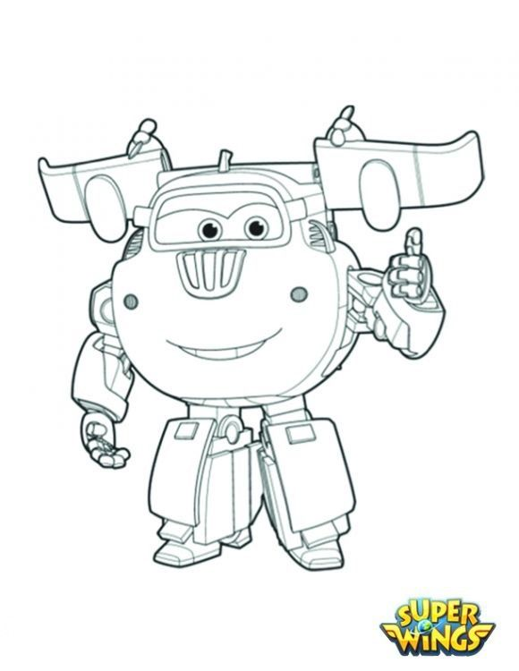 super_wings_coloringpage_donnie2__desenhos_colorir_pintar_imprimirjpg 580750 - Sprout Super Wings Coloring Pages