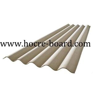 Corrugated Cement Roof Tile Size 1800x920x5mm