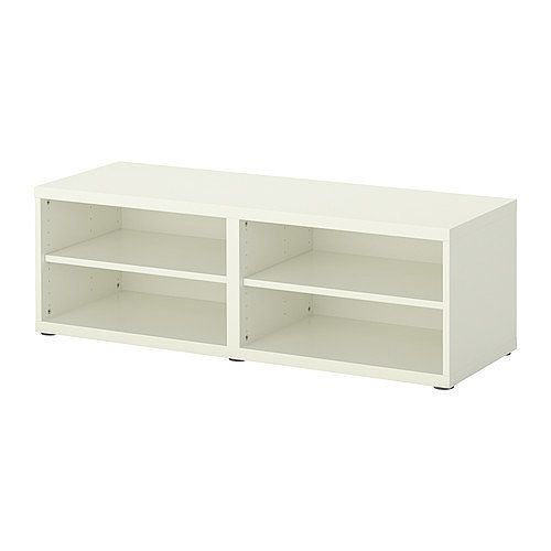2 Besta Shelf Unit Height Extension White Article Number 601 340 49 50 Each