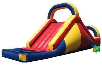 The water slide i want to rent for doedoes day.