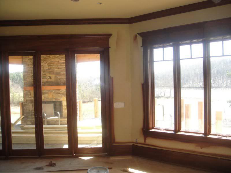 Interior Window Trim Re Blotchy Pine Interior Window