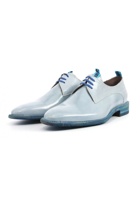 26e178b38804a9 Floris van Bommel Veterschoenen 14158 blue - Vimodos