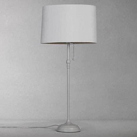 buy john lewis isabel tall table lamp grey online at