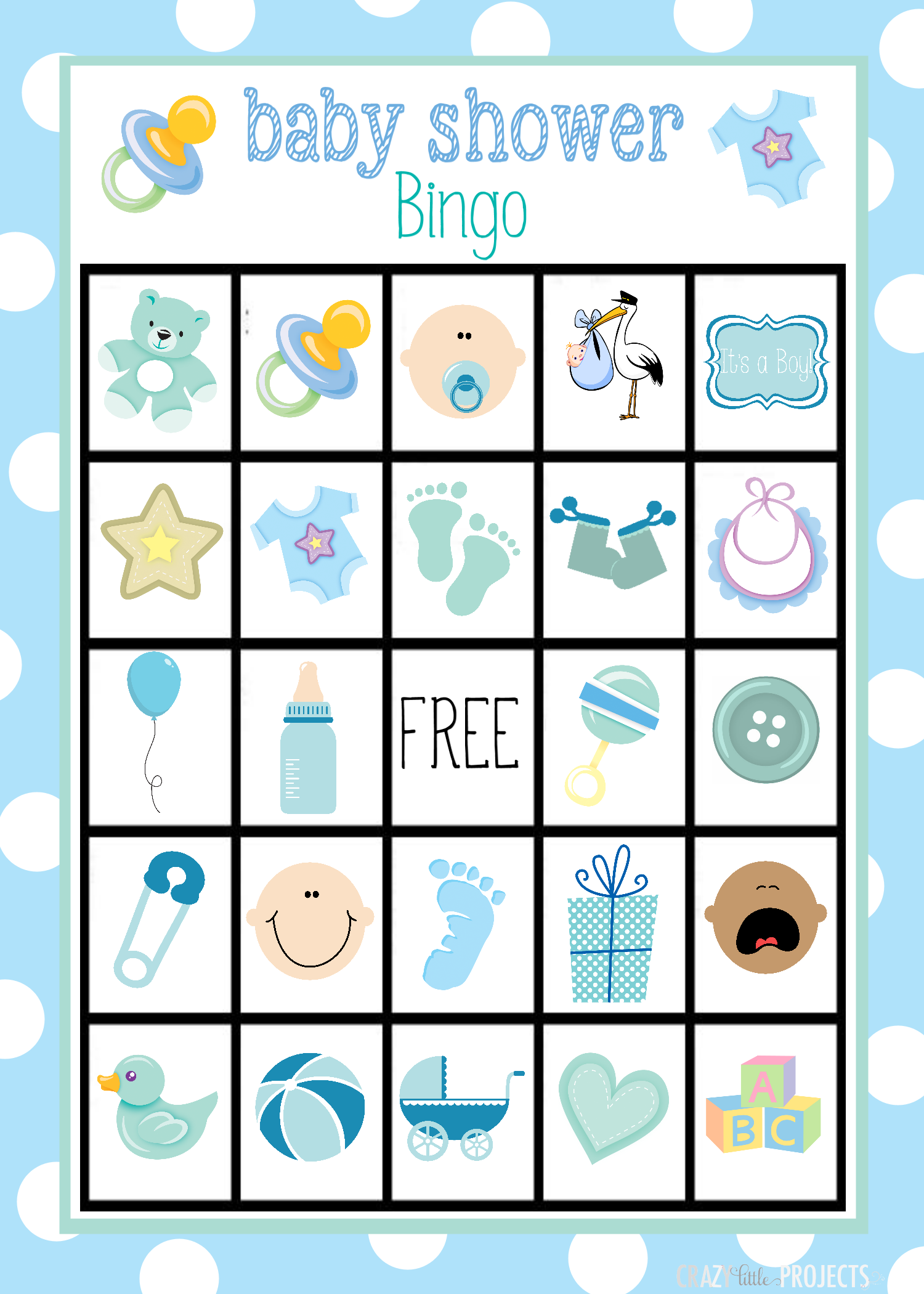 Baby shower bingo cards baby shower bingo bingo games and babies baby shower bingo game solutioingenieria Gallery